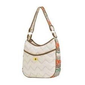 Cinda B Ravinia Classic Ivory Handbag